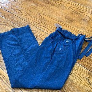Hendi USA Chambray blue slacks, size S/M